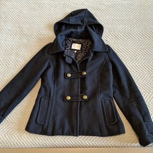 dELiA*s Hooded Thinsulate Peacoat